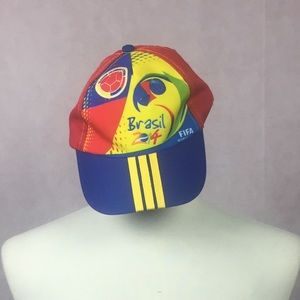 Accessories - Colombia Soccer Hat 2014 Brazil World Cup Champion 8753813ec60